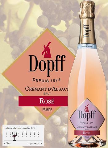 Crémant Brut Rosé Dopff au Moulin
