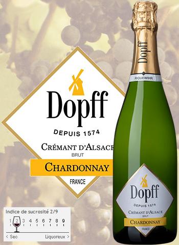 Crémant Chardonnay Brut Dopff au Moulin 2017
