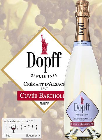 Crémant Cuvée Bartholdi Brut Dopff au Moulin 2017