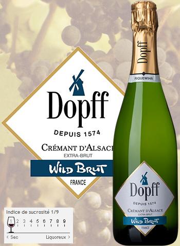 Crémant Wild Brut Dopff au Moulin 2016