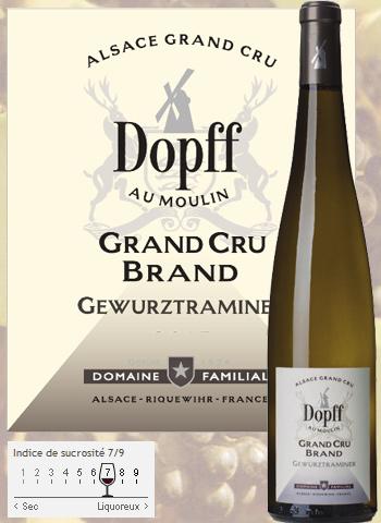 Gewurztraminer Grand Cru Brand De Turckheim 2017 Dopff au Moulin