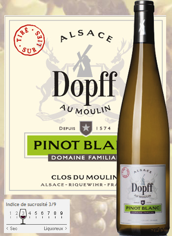Pinot Blanc Tiré Sur Lies Dopff au Moulin 2017