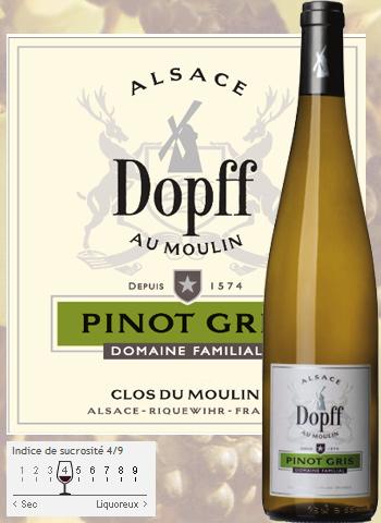 Pinot Gris De Riquewihr Dopff au Moulin 2015