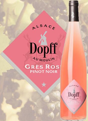 Pinot Noir Rosé Grès Rose Dopff au Moulin 2015