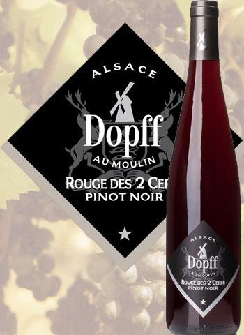 Pinot Noir Rouge Des 2 Cerfs Dopff au Moulin 2018