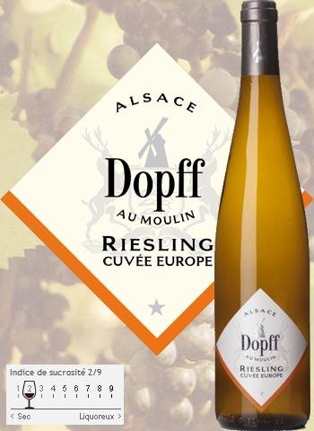 Riesling Réserve Cuvée Europe Dopff au Moulin 2019