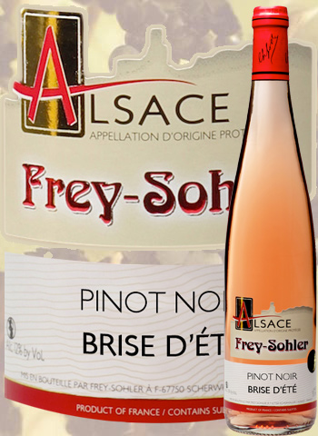 Pinot Noir Brise d'été Frey-Sohler 2019