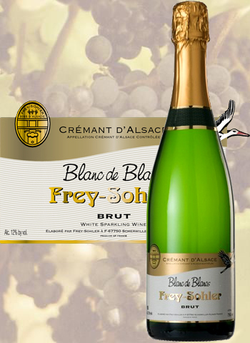 Crémant Blanc De Blancs Brut Frey-Sohler