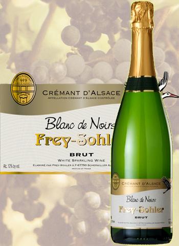 Crémant Blanc De Noirs Brut Frey-Sohler