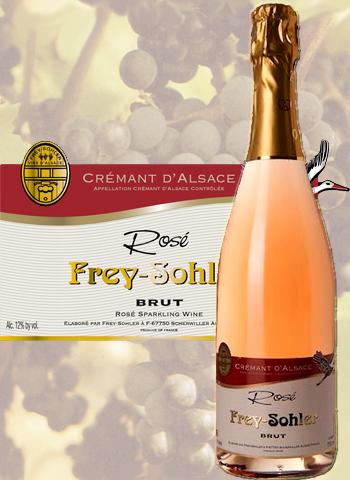 Crémant Rosé Brut Frey-Sohler
