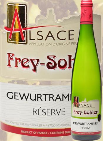 Gewurztraminer Réserve Frey-Sohler 2018