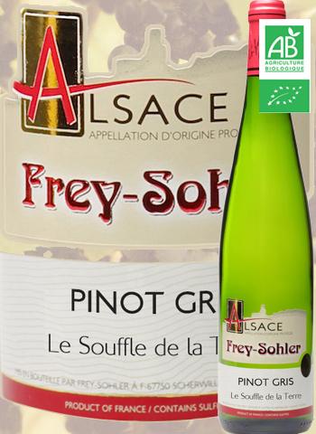 Pinot Gris Bio Le souffle de la Terre Frey-Sohler 2018