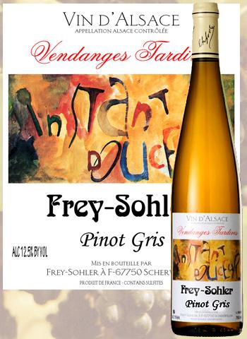 Pinot Gris Vendanges Tardives Frey-Sohler 2008