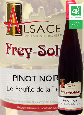 Pinot Noir Bio Le souffle de la Terre Frey-Sohler 2019