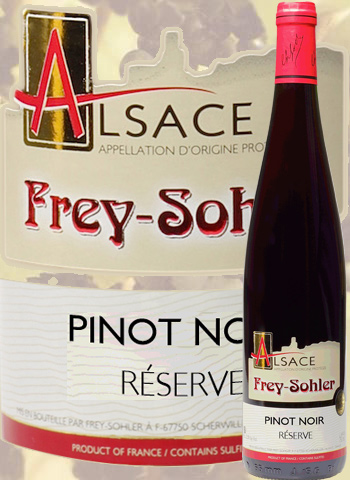 Pinot Noir Réserve Frey-Sohler 2019