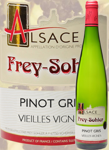 Pinot Gris Vieilles Vignes Frey-Sohler 2019