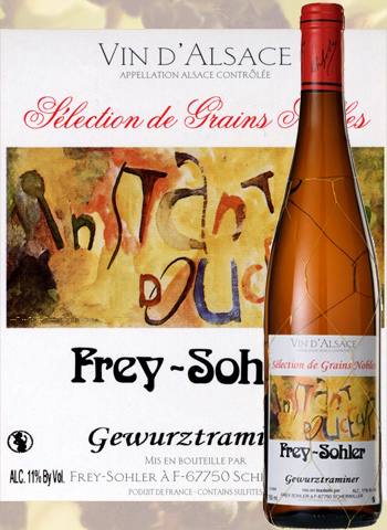 Sélection de Grains Nobles Gewurztraminer Frey-Sohler 2017