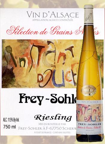 Sélection de Grains Nobles Riesling Frey-Sohler 2015