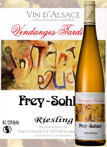 Riesling Vendanges Tardives Frey-Sohler 2015