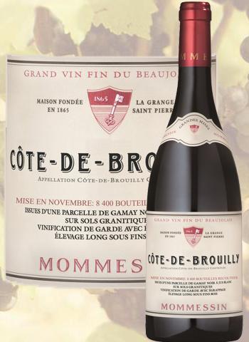 Côte de Brouilly 2018 Les Grandes Mises Mommessin