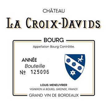 Château La Croix Davids Collection 2015 Côtes de Bourg
