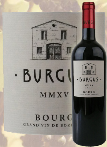 Burgus 2015 Grand Cru de Bourg