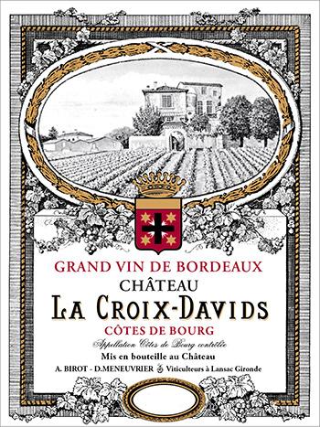 Château La Croix Davids Tradition 2016 Côtes de Bourg