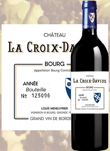 Château La Croix Davids Collection 2016 Côtes de Bourg