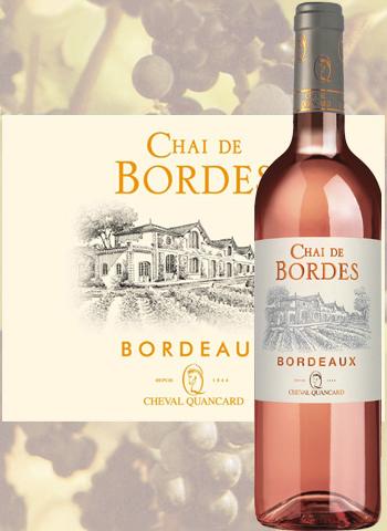 Chai De Bordes Rosé 2019 Bordeaux Cheval Quancard