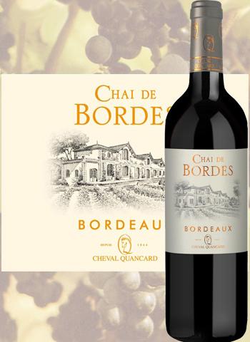 Chai De Bordes Rouge 2018 Bordeaux Quancard