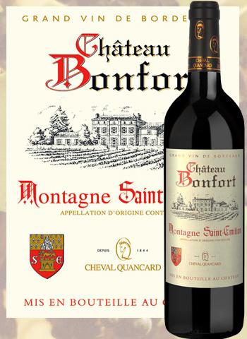 Château Bonfort 2017 Montagné-Saint-Émilion Cheval Quancard