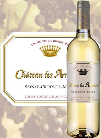 Château Les Arroucats 2017 Sainte-Croix-Du-Mont Cheval Quancard
