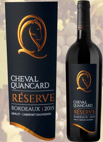 Cheval Quancard Réserve Rouge 2018 Vin de Bordeaux