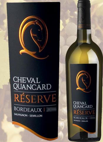 Cheval Quancard Réserve Blanc 2017 Bordeaux