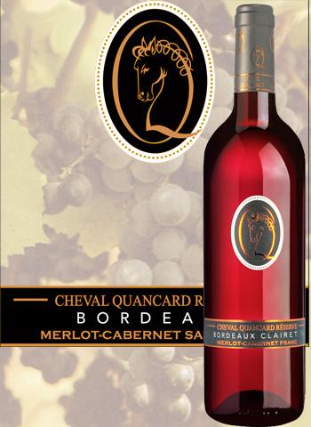 Cheval Quancard Réserve Rosé 2015 Vin de Bordeaux