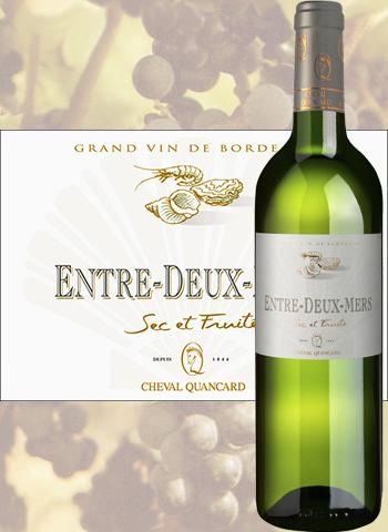 Entre-Deux-Mers Cheval Quancard 2018 Blanc sec de Bordeaux