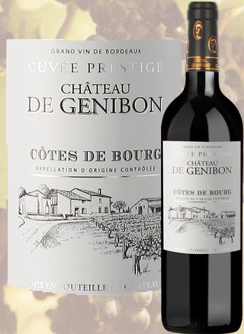 Château de Génibon 2016 Côtes de Bourg Cheval Quancard