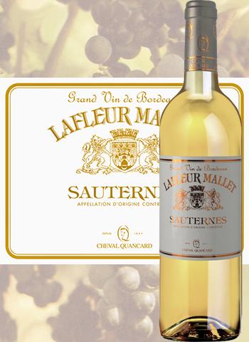 Lafleur Mallet 2018 Sauternes Cheval Quancard