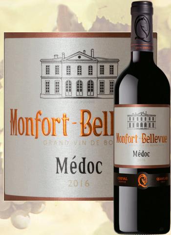 Monfort Bellevue 2016 Médoc Cheval Quancard