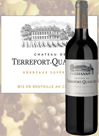 Château De Terrefort-Quancard 2018 Bordeaux Supérieur