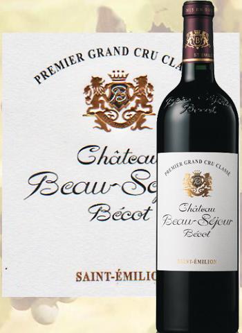 Château Beau-Séjour Bécot 2014 Premier Cru Classé de Saint-Emilion