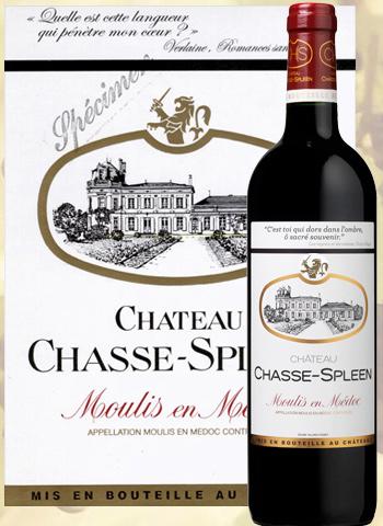 Château Chasse-Spleen 2017 Cru Bourgeois de Moulis-en-Médoc