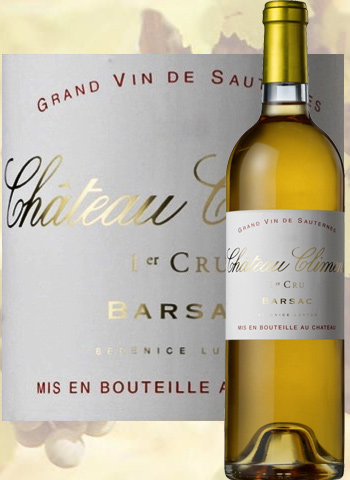 Château Climens 2016 Grand Cru de Sauternes