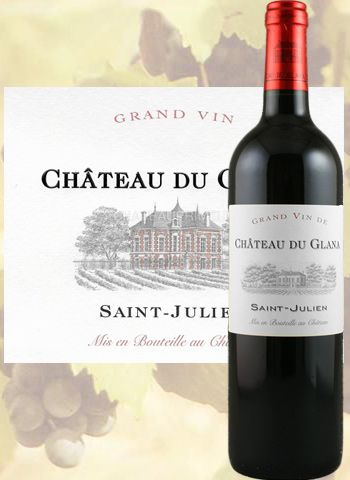 Château du Glana 2014 Cru Bourgeois de Saint-Julien