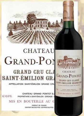 Château Grand Pontet 2017 Grand Cru de Saint-Emilion
