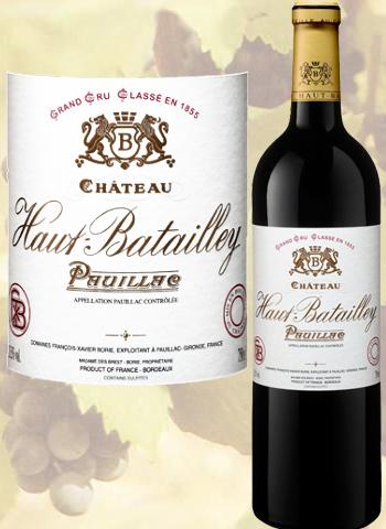 Magnum Château Haut-Batailley 2017 Grand Cru de Pauillac