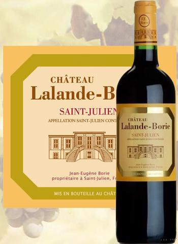 Château Lalande-Borie 2014 Cru Bourgeois de Saint-Julien