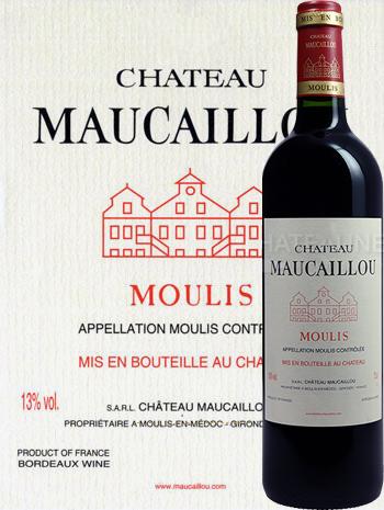 Château Maucaillou 2017 Cru Bourgeois de Moulis-en-Médoc
