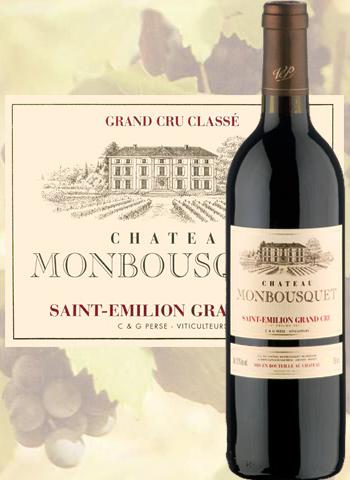 Château Monbousquet Rouge 2017 Grand Cru de Saint-Emilion