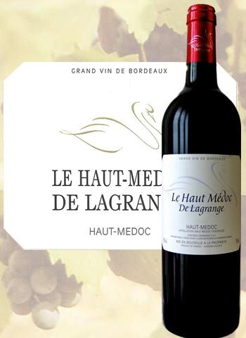 Le Haut-Médoc de Lagrange 2016 Second Vin du Haut-Médoc